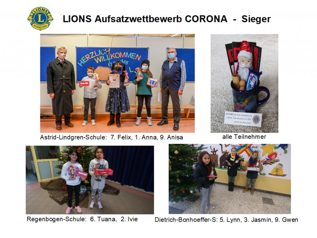 Schreibwettbewerb Lions Club Dietzenbach
